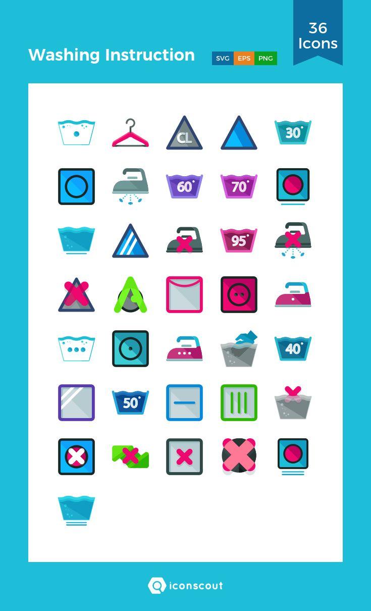 Best 25 washing instruction symbols ideas on pinterest they washing instruction icon pack biocorpaavc