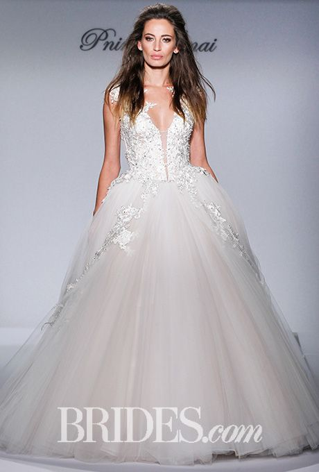 17 best images about pnina tornai 2016 runway collection for Kleinfeld wedding dresses with sleeves