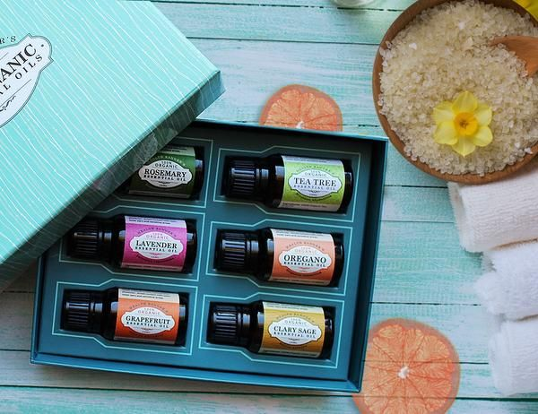 Essential Oils Gift Sets from the Health Ranger Store