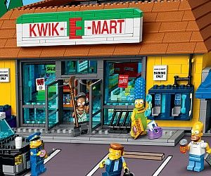 The Simpsons LEGO Kwik-E-Mart . Keep your LEGO Springfielders satisfied by fulfilling all their shopping needs with The Simpsons LEGO Kwik-...