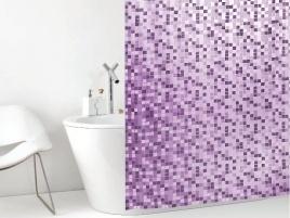 Cambiare immagine al bagno con una nuova tenda da doccia #Casa #Bath #Arredo