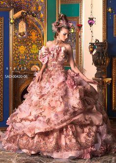 Stella de Libero diseñadora de vestidos pomposos