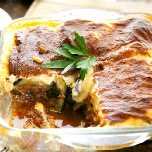Moussaka Authentic And Traditional Greek Recipe: 17 Best Images About Greek Pastisio/Moussaka/Papoutsakia