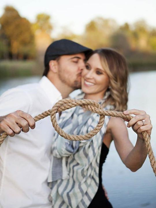 Adorable! Tying the knot photo.. BrideBug.com