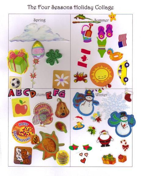 pinterest photo collage wall ideas - 24 best images about The Four Seasons Ideas for Kids on