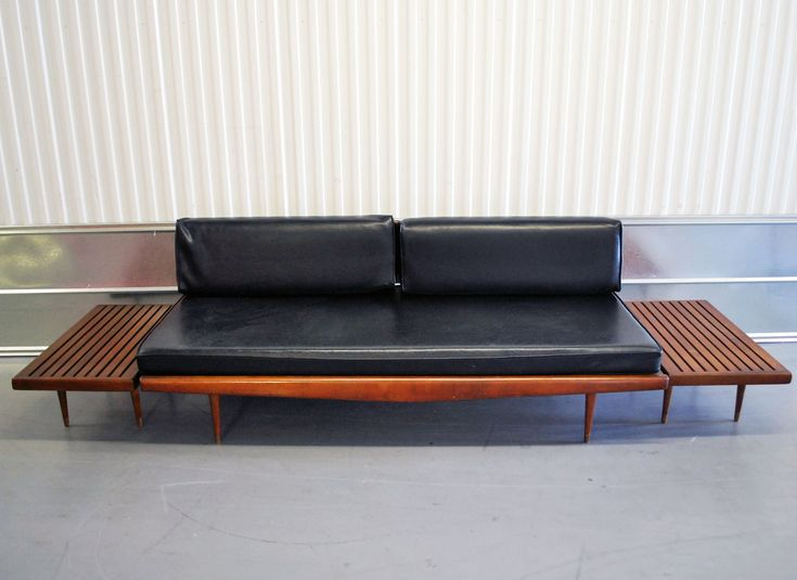 Mid Century Danish Modern Eames Era Daybed/Sofa
