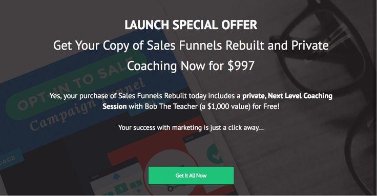 Announcing LeadPages New Course: Sales Funnel Rebuilt https://www.evernote.com/Home.action#n=e20ba403-4db4-4736-a8ea-3c10b7253b9d