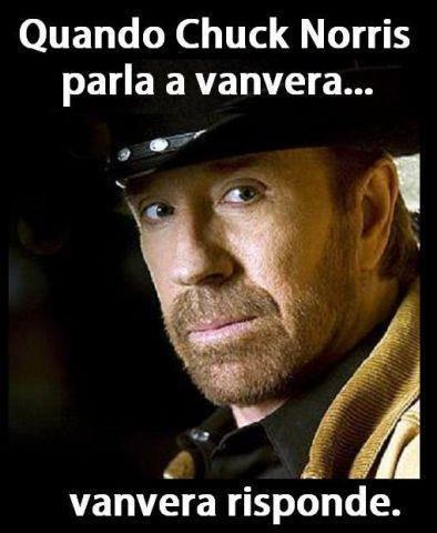 Quando Chuck Norris parla a vanvera... vanvera risponde