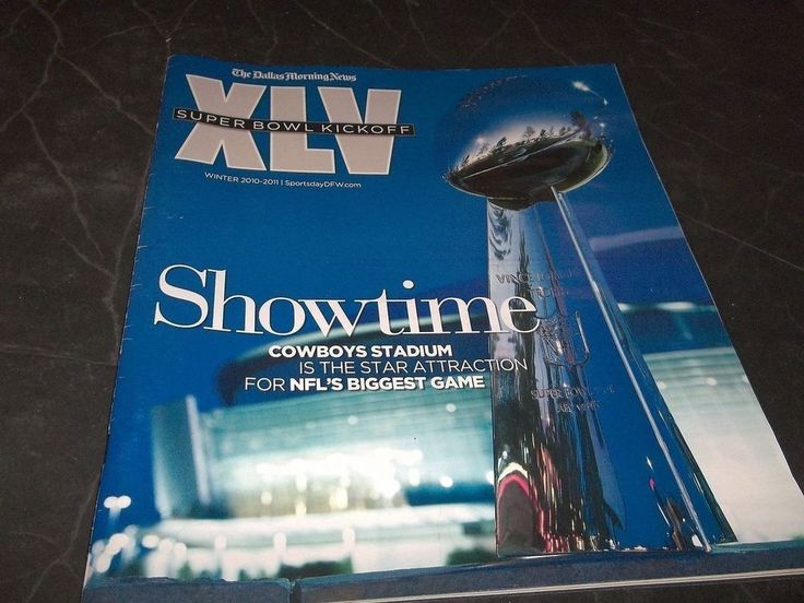Dallas Morning News Super Bowl XLV 45 Dallas Cowboys Stadium photo's Past Bowls #DallasCowboys