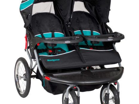 ADELINA Designer Double Stroller, Black  Designer tandem baby stroller arrives with big under seat container, extended canopy for more sun protection, five point safety harness, padded crotch area for more comfort, back seat for much more storage, front and rear wheel locks and thicker support for more comfort. Price: $139.06  The post  ADELINA Designer Double Stroller, Black  appeared first on  Prohmote.com .  http://www.prohmote.com/adelina-designer-double-stroller-black/