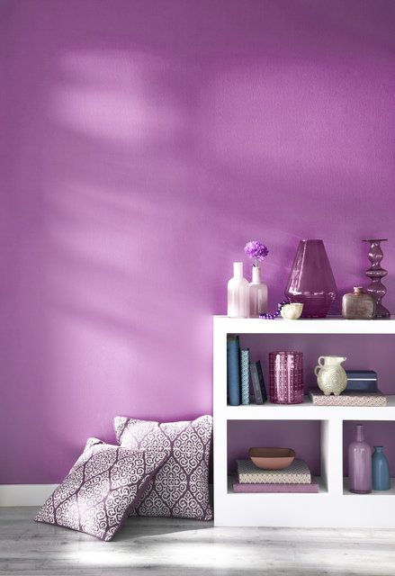 Pantone 2014 color of the year: Radiant Orchid Pictured: Pantone Universe paint by Valspar