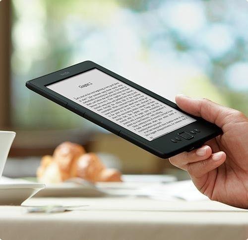 "BRAND NEW Amazon Kindle 6"" E Ink Display 2GB, Wi-Fi, 6in - Black (Latest Model) #Amazon"