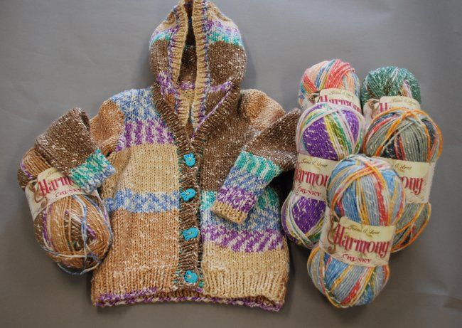 1:12 scale 4 inch dollhouse little girl Knitting Patterns SET 4