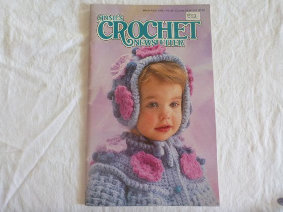 Annies Crochet Newsletter March/April 1992 by CarolsCreations77, $4.50