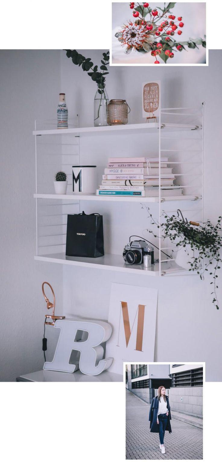 Beauty Und Lifestyle Favoriten Im Oktober: Interior, Mode Und Lippenstifte.  String Regel Weiß: Schlichte Deko Fürs String Regal.