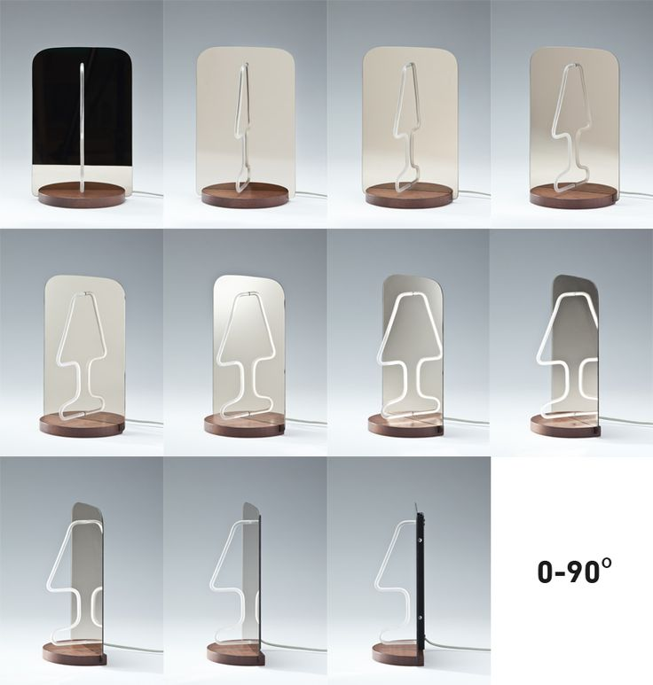 Kutarq Moitie 90 Degrees Rotation Reflection As A Key Design Tool:  Ingenious Moitie Table Lamp | I Like It | Pinterest Good Looking