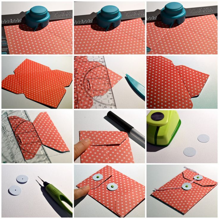 STEP-BY-STEP TUTORIAL [COIN ENVELOPE, LIBRARY POCKET]Envelope punch Board