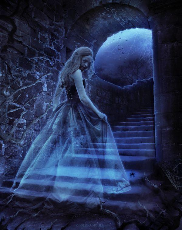 Картинки призраки девушек