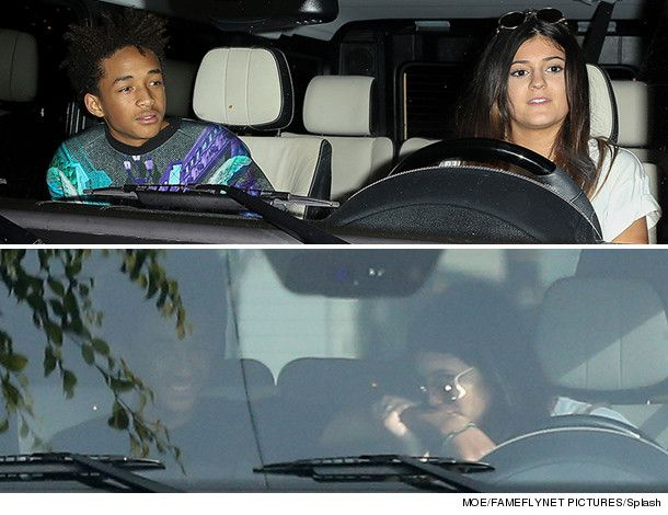 Kylie Jenner & Jaden Smith Get Cozy on Shopping Date –- See Cute Pics!