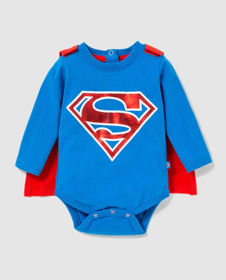 Superman baby caped body