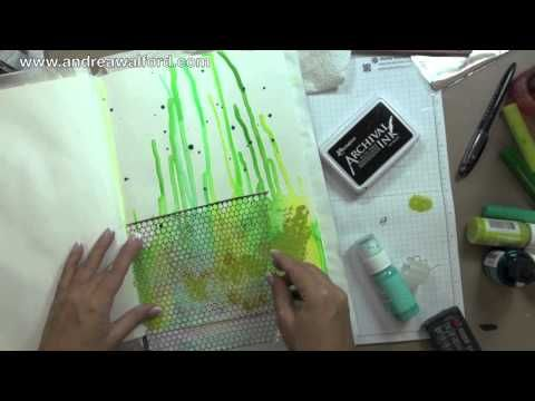 """Art Journal Express #9: """"Life Is About Creating Yourself"""" Art Journal Page - YouTube"""
