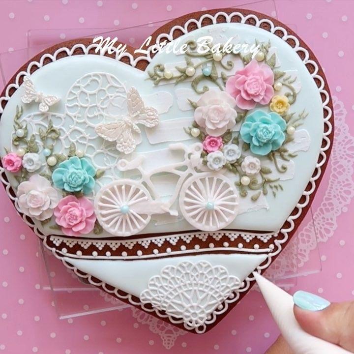 541 отметок «Нравится», 32 комментариев — Nadia •My Little Bakery• (@my_little_bakery2016) в Instagram: «Full video on my YouTube (link in bio) Please, subscribe to see more videos❣️ . #cookies #video…»