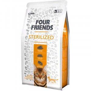 Ideel til katte med allergi. Fremstillet af højkvalitets ingredienser. Optimal ernæring. Indeholder Aloe Vera-ekstrakt. Afbalancerede energiindhold. Fås i 2 kg og 6 kg. Indeholder 36% protein.