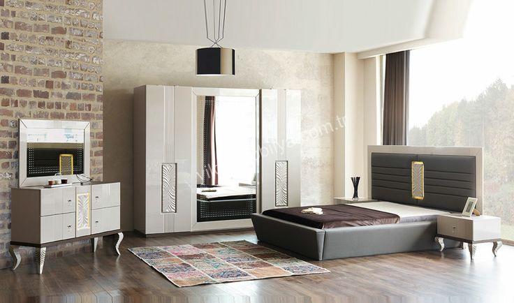 Grand Yatak Odası  #bed #bedroom #avangarde #modern #pinterest #yildizmobilya #furniture #room #home #ev #young #decoration #moda       http://www.yildizmobilya.com.tr/