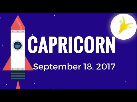 Daily Horoscope CAPRICORN September 18, 2017 December 22 – January 19  If you prepare for miscommunication about a …