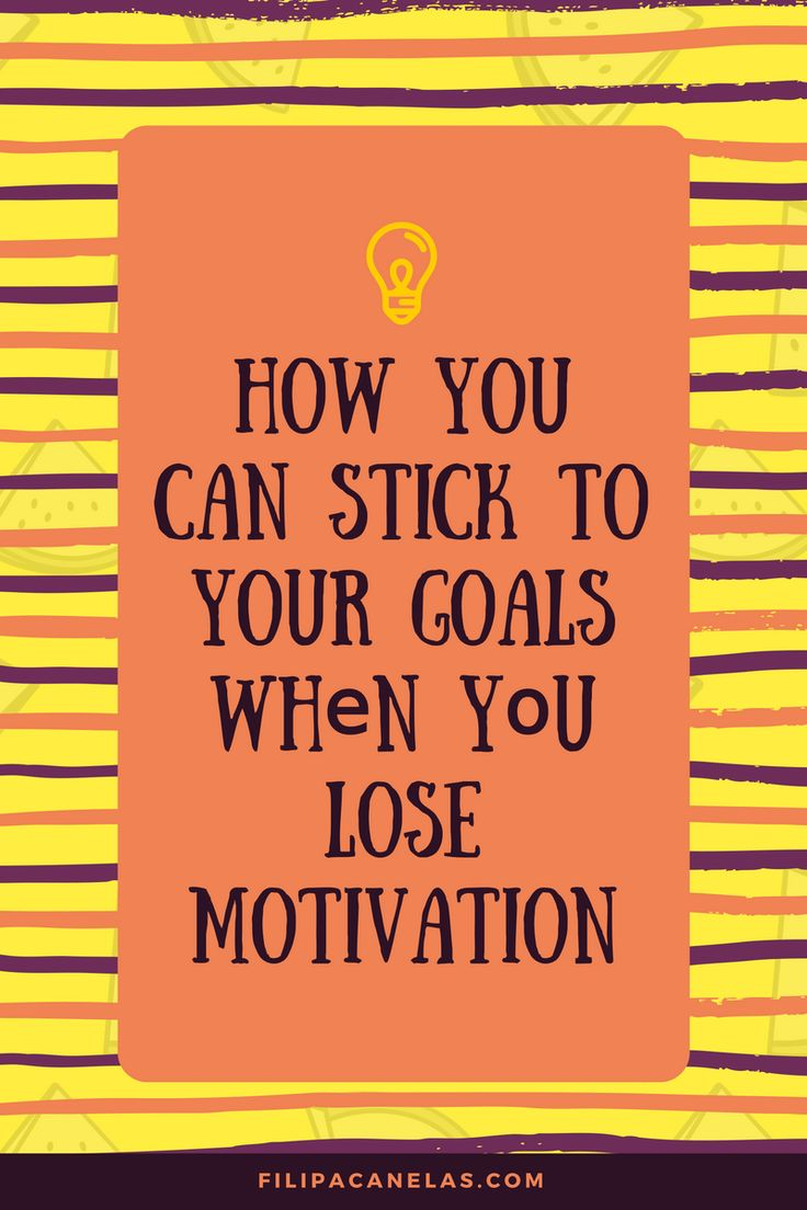 Losing the motivation to complete your goals after 2 weeks is really common. Does that happen to you? How can you stick to your goals when you lose motivation? I've got the tips (I use them too)!