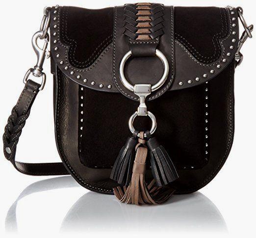 FRYE Ilana Western Saddle, Black/Multi #crossbody /shop crossbody online / buy crossbody online