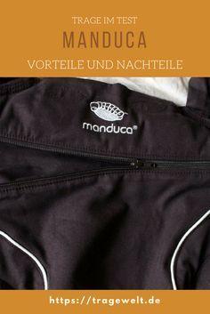 Die Manduca ist als Babytrage sehr beliebt. Diese Vor- und Nachteile hat sie für Tragling und Träger.