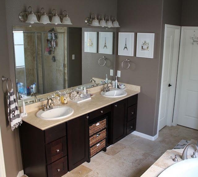 Valspar sienne paint dark gray with brownish undertones for Valspar kitchen and bath paint