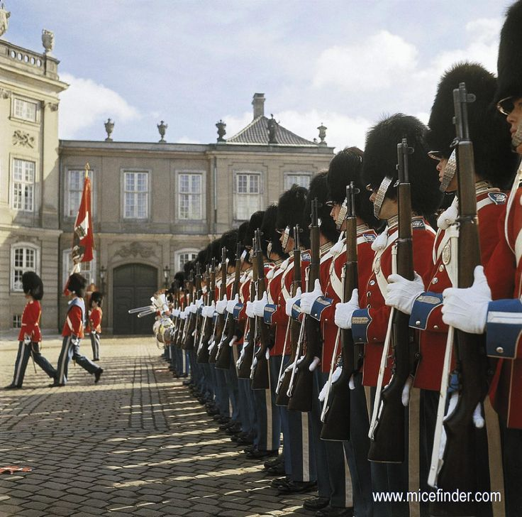 Copenhagen Royal Guards