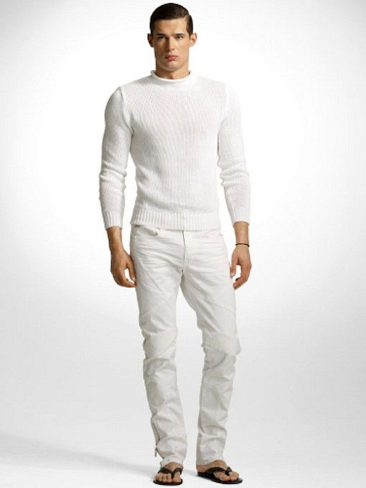 25  best ideas about White jeans for men on Pinterest | Jean shirt ...