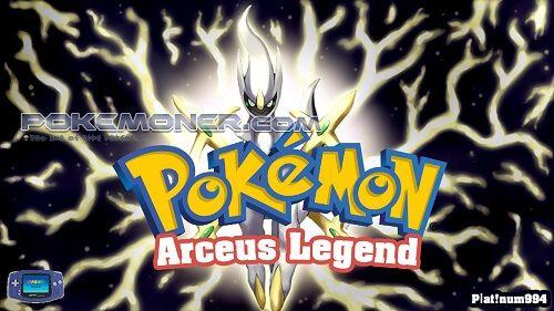 Pokemon Arceus Legend