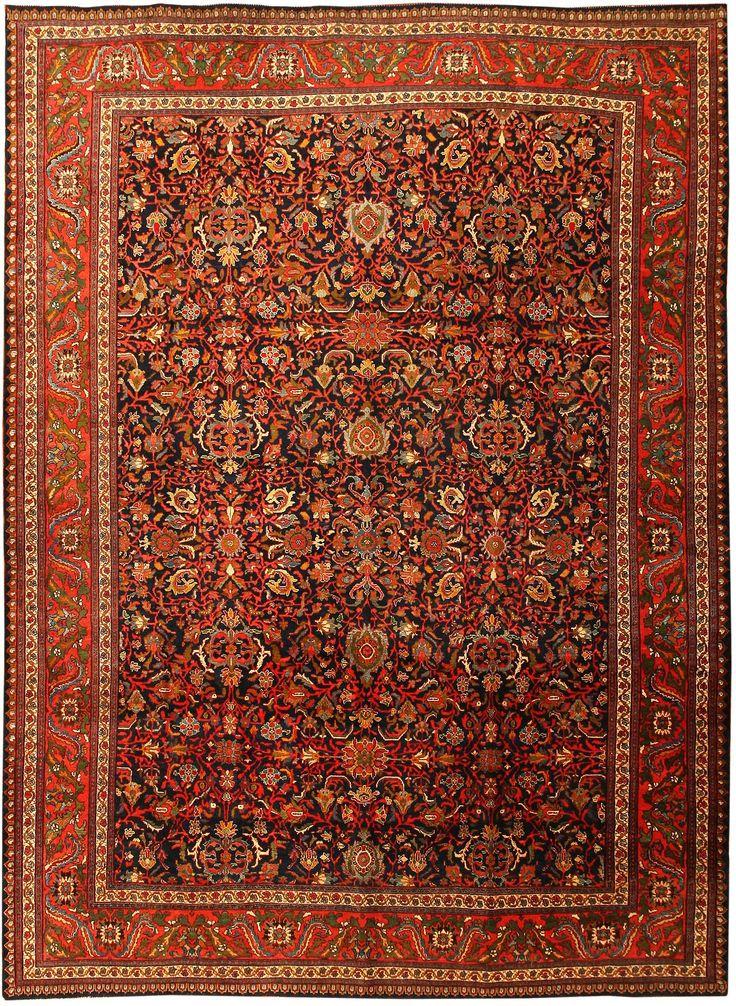 Antique Bidjar Persian Rug 43561 Main Image - By Nazmiyal