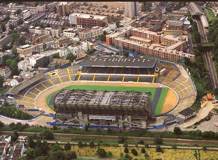 Aerial View of Stamford Bridge 1980's