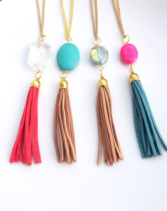 Cute Tassel Necklace