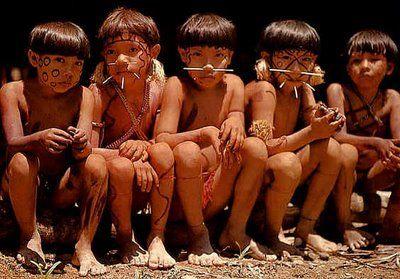 índios crianças/ indians kids. #indianchild #indiankid