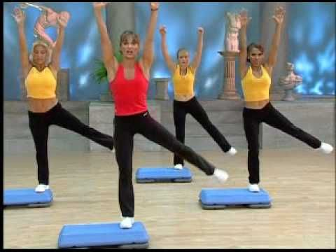 Low Impact Step + Total Body Sculpting - YouTube