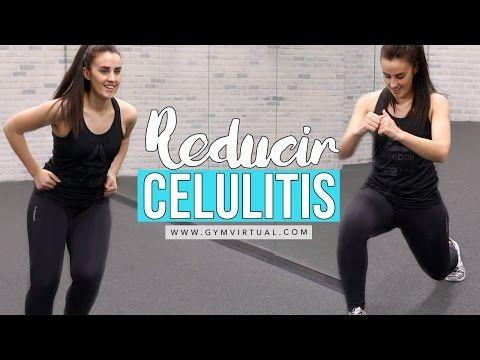 Reducir celulitis de las piernas con cardio moderado 20 minutos - YouTube