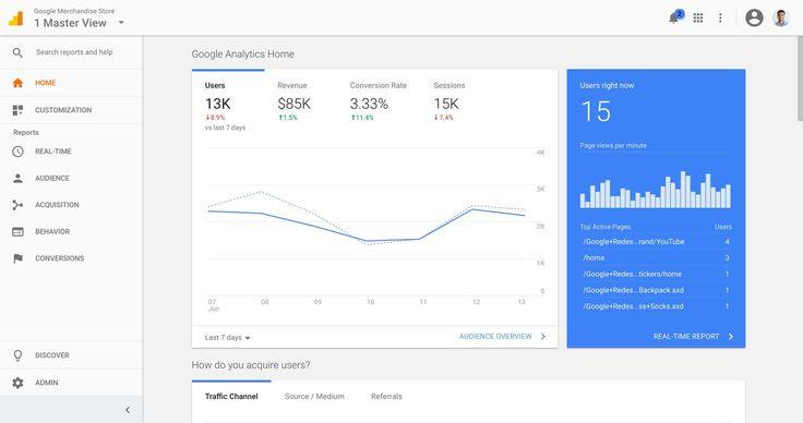 Google Analytics'in yeni arayüzü kullanıcıların yarısından fazlasına açıldı! #İşCep #AnındaBankacılık #teknoloji #mobilhaber #mobiluygulama #mobilhayat #technology #mobilcihaz #teknolojihaberleri #haber
