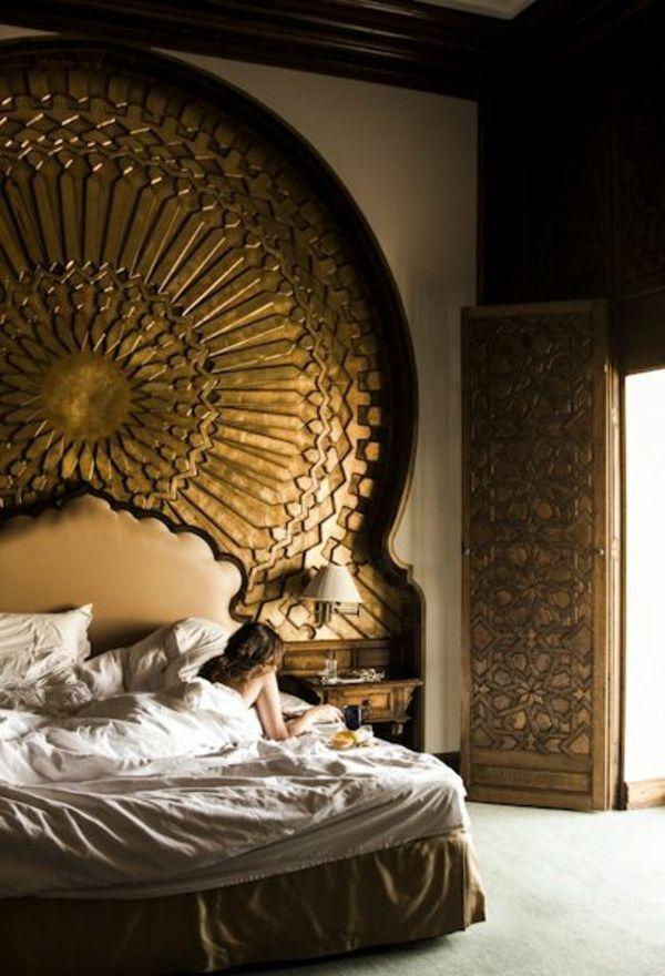 30 ideen fr bett kopfteil mrchenhafte und kunstvolle beispiele - Hausgemachte Kopfteile Fr Betten