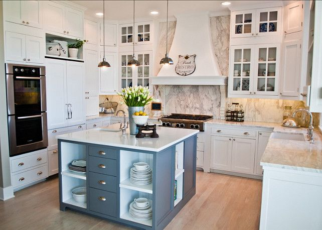 White Kitchen. Great White Kitchen Design. #White #Kitchen #Design