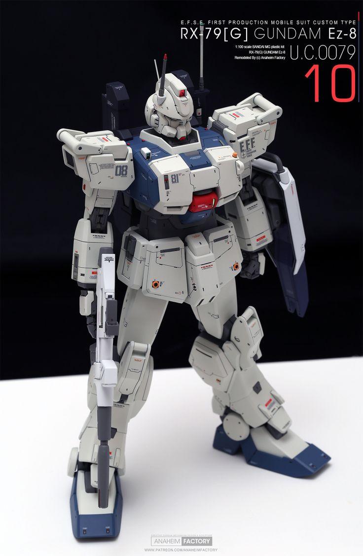 10 [ROLL OUT] RX79[G] GUNDAM Ez8 ANAHEIM FACTORY on
