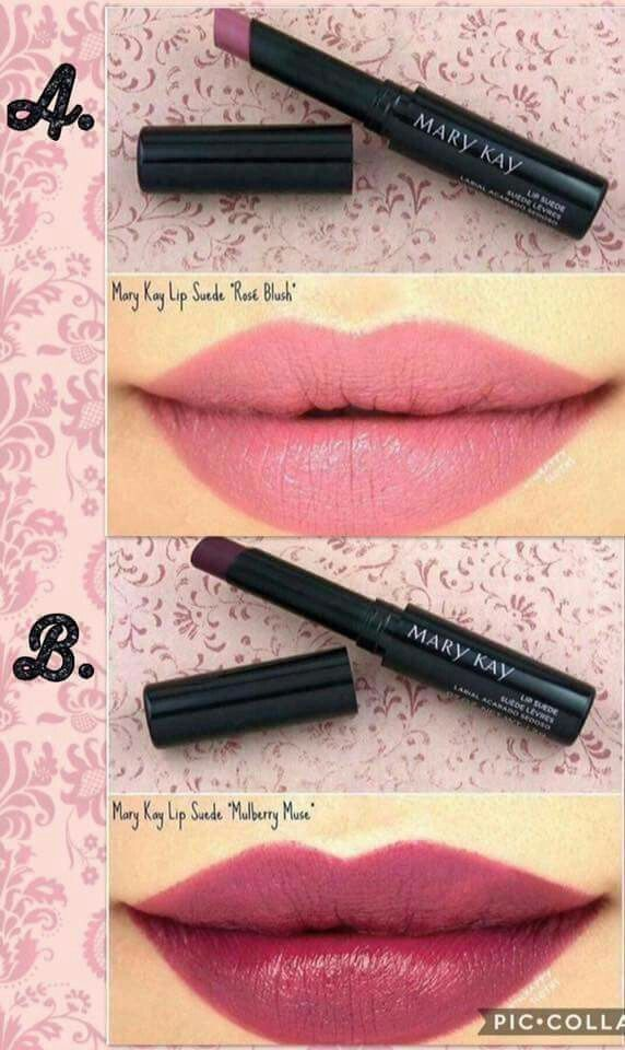 AMAZING NEW FALL LIPSTICKS! Only from Mary Kay