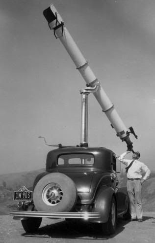 Road Astronomy anno dazumal. i would marry this man for his astrocaroscope.