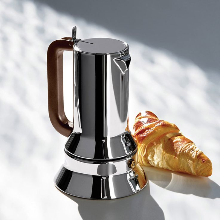 In memory of Richard Sapper, here's Dezeen's movie in which Alessi president Alberto Alessi explains the story behind the designer's 9090 espresso maker