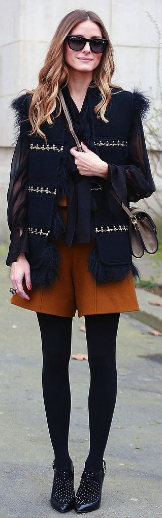 Of course Olivia Palermo has the ultimate Winter style.